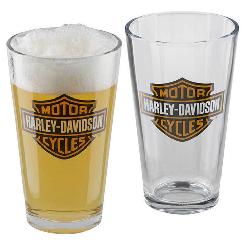Bar & Shield Logo Pint Glass Set - 16 oz.