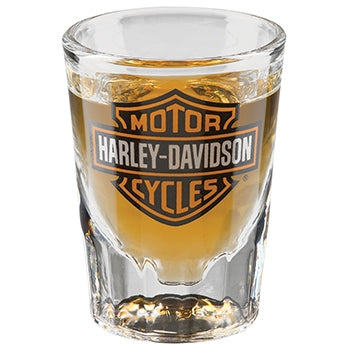 Bar & Shield Shot Glass