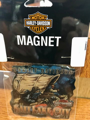 Harley-Davidson of Salt Lake City Magnet
