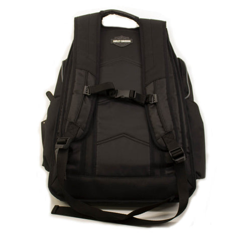Harley-Davidson® Grey & Black Bar & Shield Deluxe Backpack