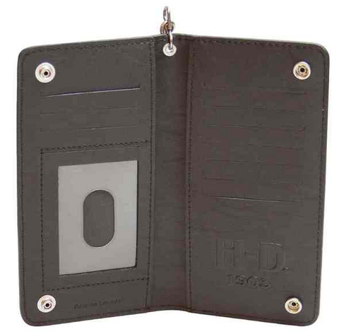 Men's Bar & Shield BiFold Embossed Wallet
