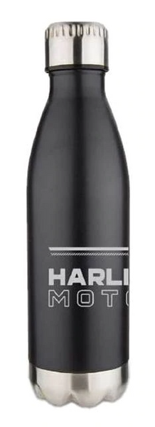 Harley-Davidson® Lineation Stainless Steel Travel Bottle - Matte