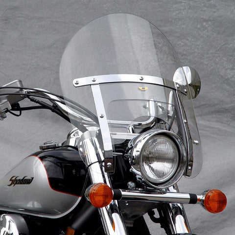 National Cycle Low Boy Heavy Duty Windshields for Street