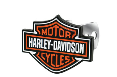 Harley-Davidson Full-Color Aluminum Hitch Plug