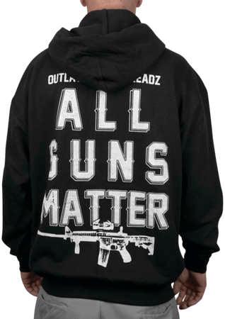 Outlaw Threadz Men's All Guns Matter Hoody