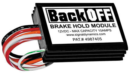 Signal Dynamics BackOFF Brake Hold Module