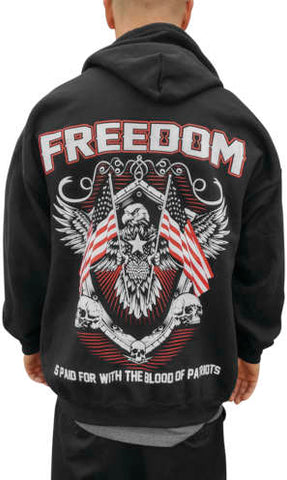 Outlaw Threadz Men's Freedom Hoody