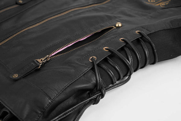 Black Brand Women's Mantra Leather Jacket