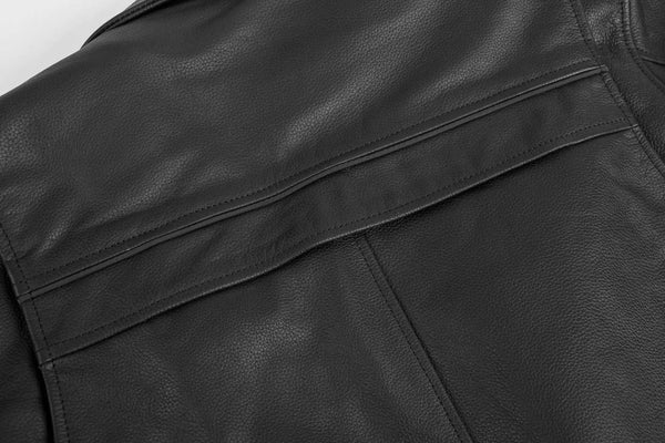 Black Brand Men's Neanderthal Leather Jacket