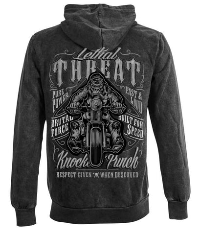 Lethal Threat Men's Riding Gorllia Hoody