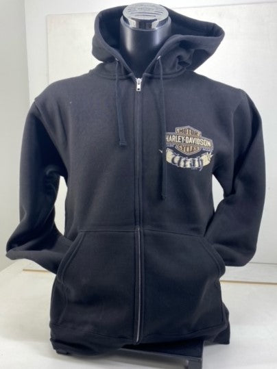 Harley-Davidson of Salt Lake City Zip-Up Hoodie - Black