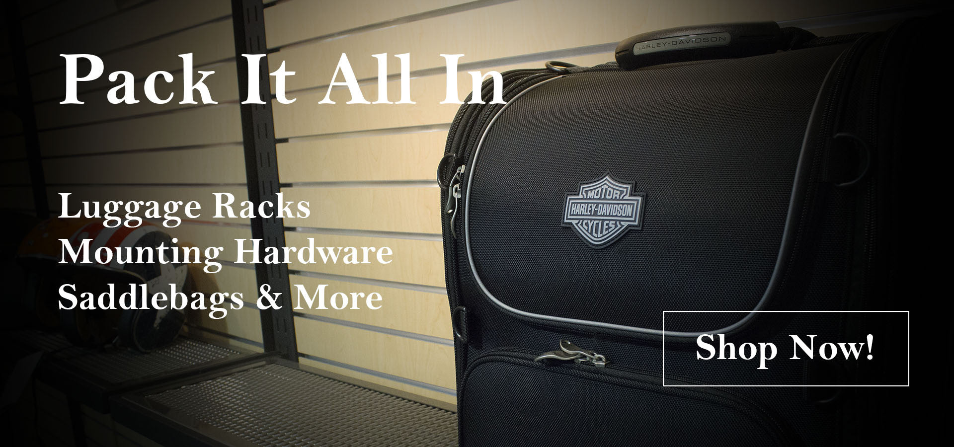 Pack It All In: Luggage Racks, Mounting Hardward, Saddlebags, and More