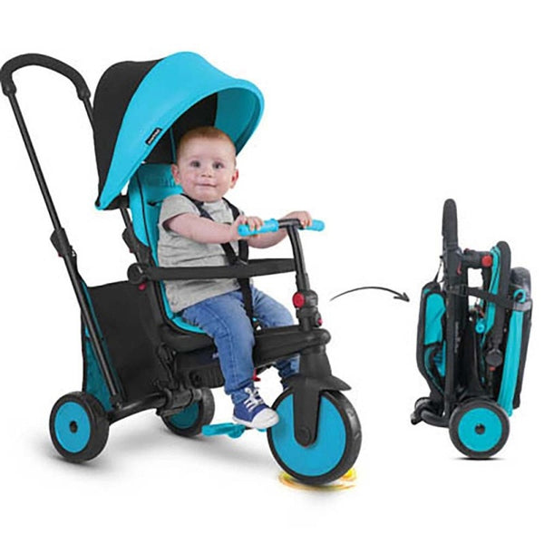 Triciclo Plegable STR3 Azul Smart Trike