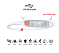 Linterna Frontal Quokka Run Headlamp Coral