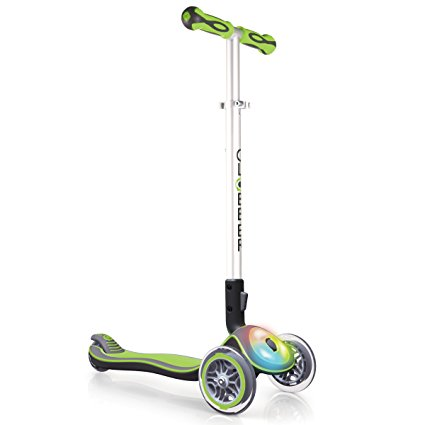 Scooter Elite Flash Lights Verde