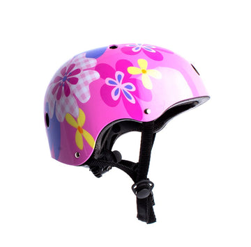 Casco De Niña con Luz On wheels