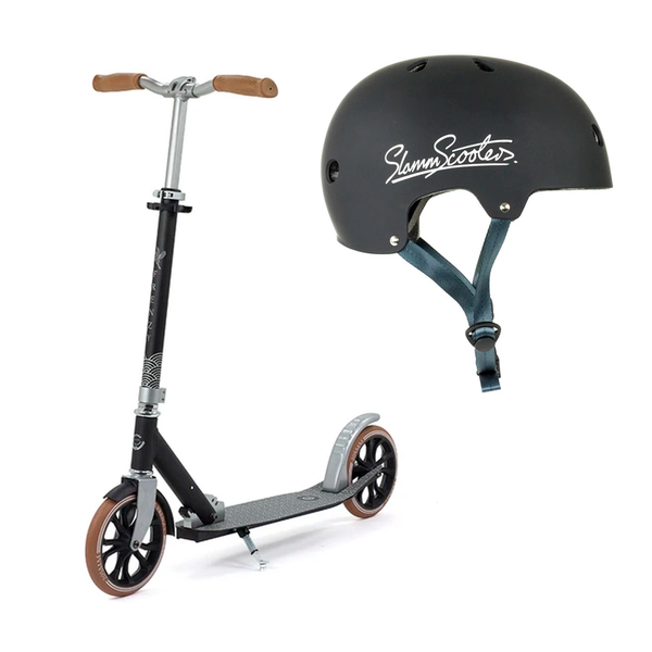 Combo Scooter Frenzy Kaimana Adulto + Casco Slam Negro Adulto