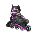 Patin En Linea Fitness Adulto Negro/ Morado 150GP-Hook