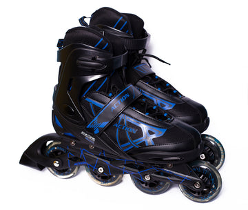 Patines en Linea Action 125X Blue