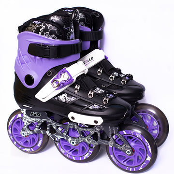 Patines Hondar Titan Negro/Purpura 110 mm