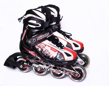 Patines en Linea Action 125 Red Talla (36-39)