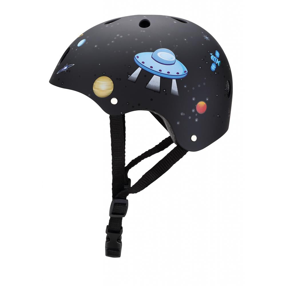 Casco Junior Negro Rocket