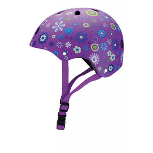 Casco Junior Violeta Flores