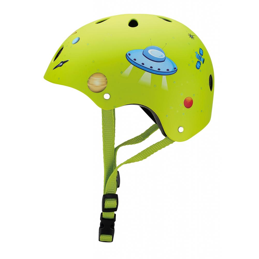 Casco Junior Lime Green Rocket