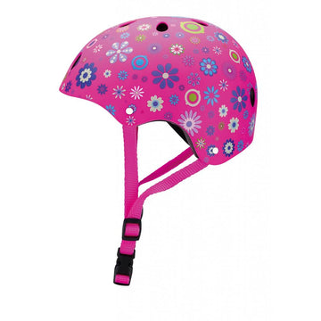 Casco Junior Rosado Flores