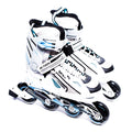 Patines en Linea Action 132B White/Blue