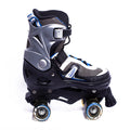 Patines Quad action 126B Action Black/Blue Talla (40-43)