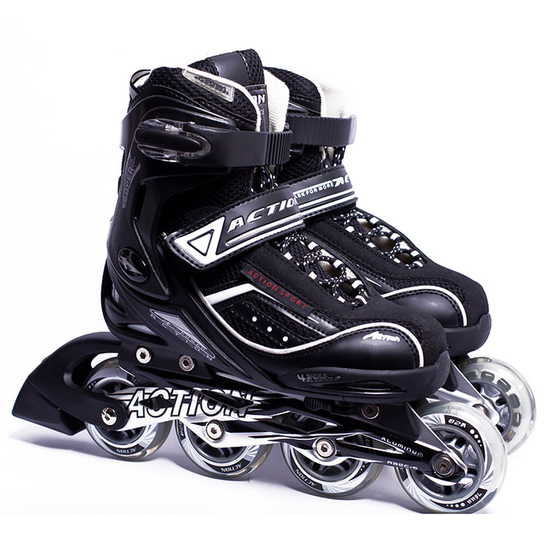 Patines en Linea Action 125A Black (Talla 36-39)
