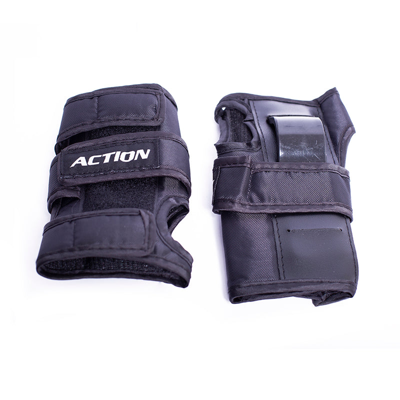 Set de protecciones Action Black