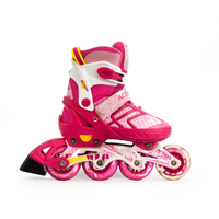 Patines en Linea Action Rosado/Red Talla (37-40)