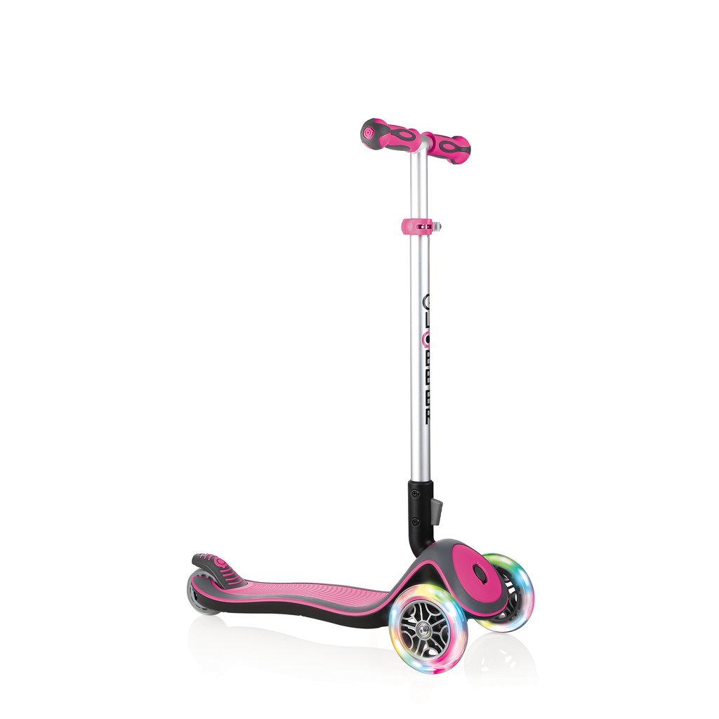 Scooter Elite Flash Wheels Rosado