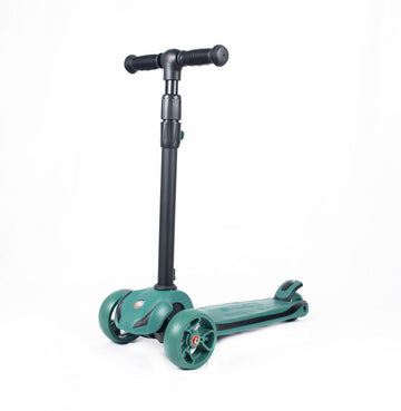 Scooter  con luz MAXI 3 Ruedas Hook-Green