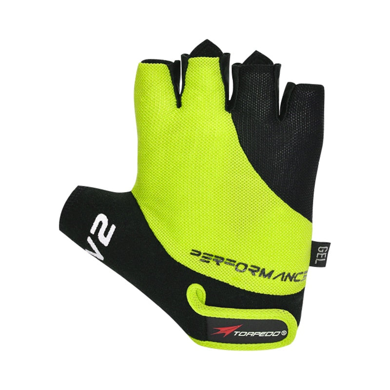 Guante Corto Performance V2 Yellow