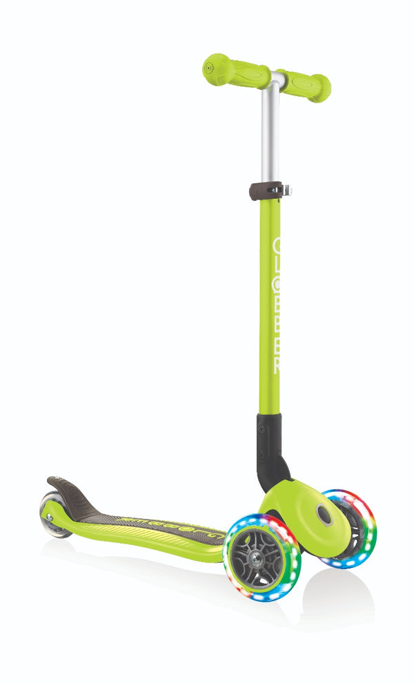 Scooter Foldable Globber Verde.