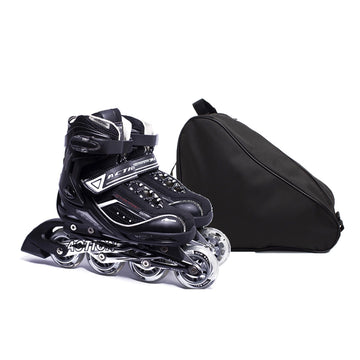 Combo Patines Action 125A Black (Talla 36-39) + bolso Negro Onwheels