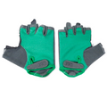 Guantes Mujer Road & Trial verde gris
