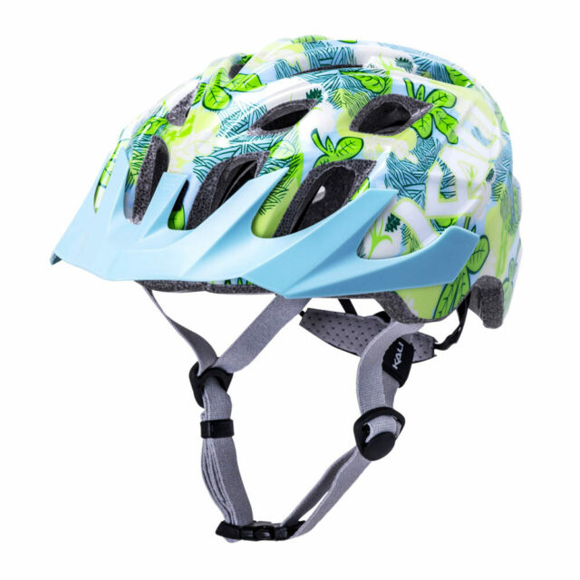 Casco Sport KaliChakra Youth Flora Glosy Blue