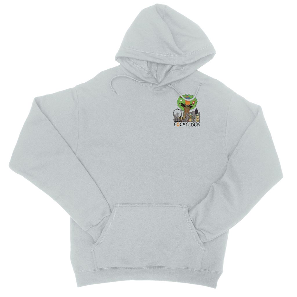 Focallocal Logo - Small College Hoodie