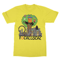 Focallocal Logo - Large Softstyle Ringspun T-Shirt