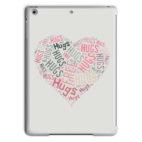 Hugs Tag Cloud - Pink Tablet Case