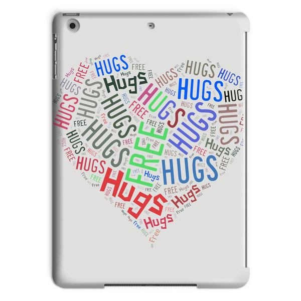 Hugs Tag Cloud - Darker print Tablet Case