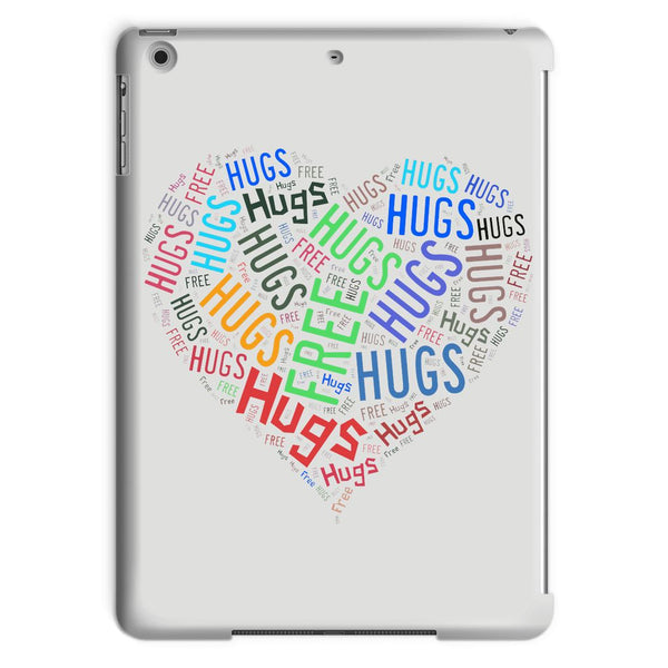 Hugs Tag Cloud Focused - Dark Tablet Case