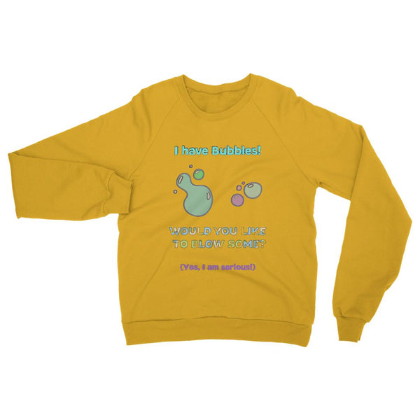 Blow some bubbles Heavy Blend Crew Neck Sweatshirt