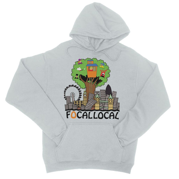 Focallocal Logo - Large College Hoodie