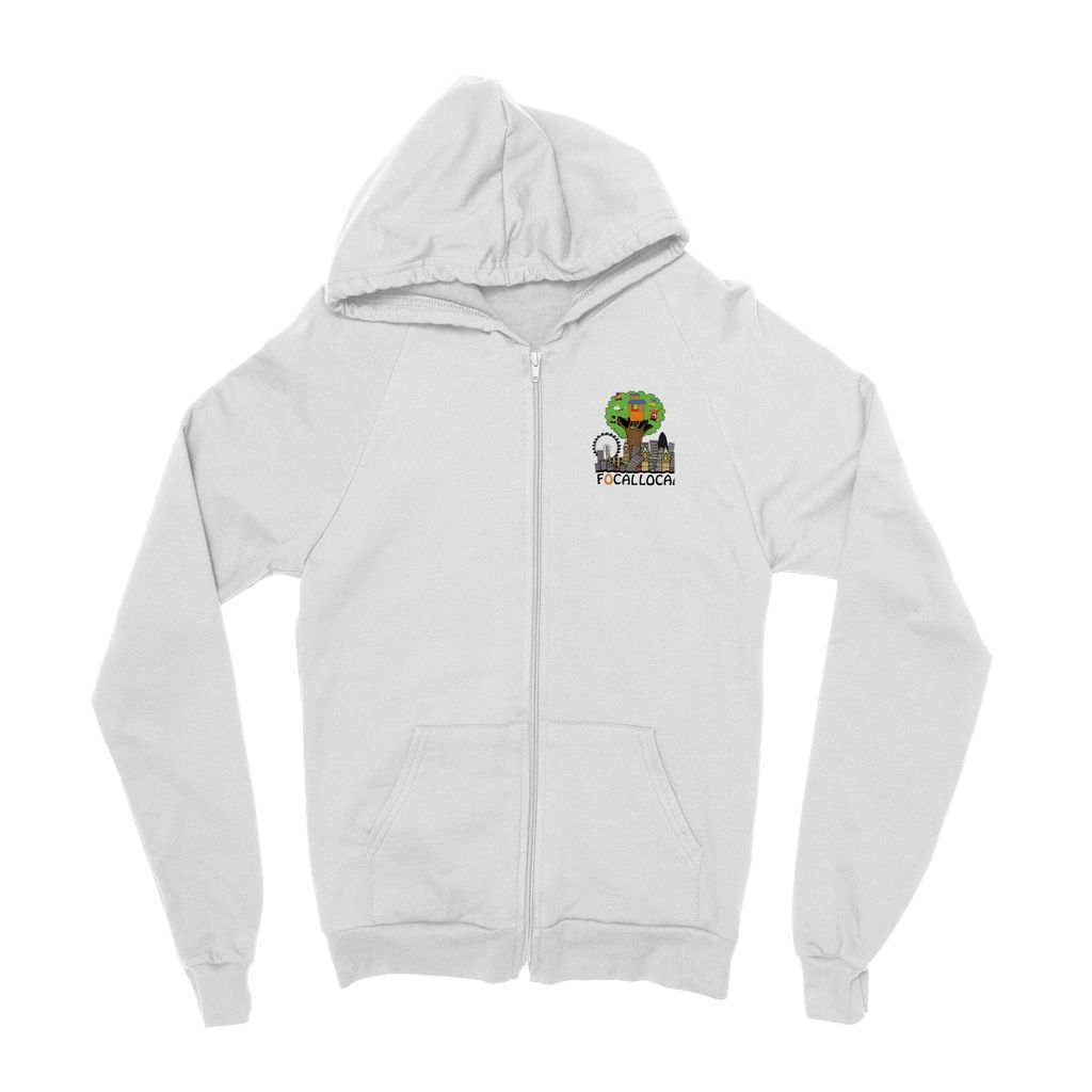Focallocal Logo - Small Kids' Zip Hoodie