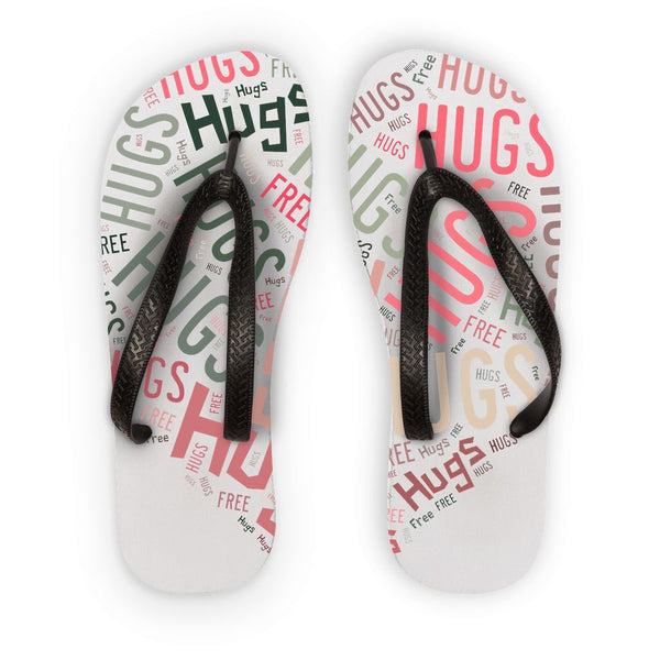 Hugs Tag Cloud - Pink Flip Flops